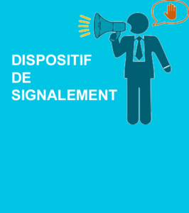 Dispositif de signalement