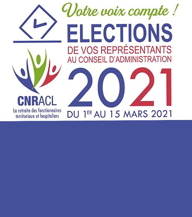 CNRACL Renouvellement du conseil d'administration – Elections 2021