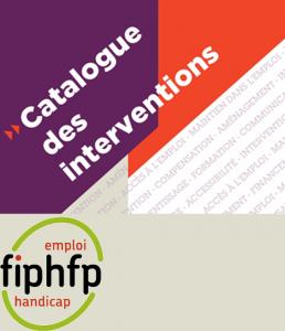 Catalogue des interventions du FIPHFP - Nouveautés